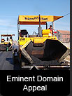 Eminent domain appeal